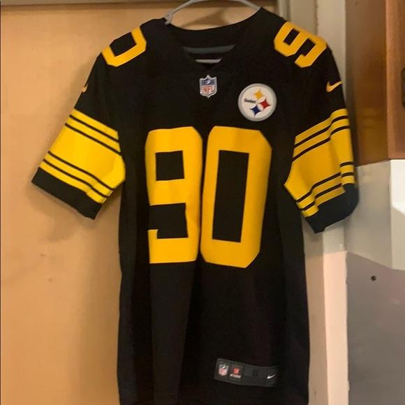 T.J Watt authentic color rush jersey